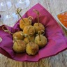 Boulettes apéritives de thon et courgettes à la sauce Fruity Thaï