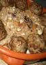Boulettes d'agneau à l'orientale et semoules aux fruits secs
