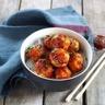 Boulettes de poulet sauce BBQ