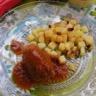 Boulettes de poulet sauce Ketchup