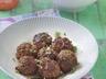 Boulettes de viande aux pistaches