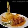 Brochette de Saint-Jacques à la compote de pommes et beurre de cidre