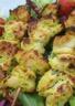 Brochettes au curry et ras el hanout