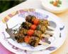 Brochettes de boulettes d'agneau au ras-el-hanout