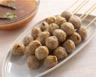 Brochettes de boulettes de veau