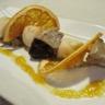 Brochettes de foie gras et St-Jacques au Pomelo