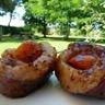 Brochettes de magret de canard aux abricots à griller