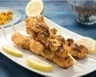 Brochettes de poulet au curry et fromage blanc