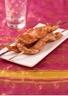 Brochettes de poulet aux épices tandoori