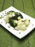Brocoli et chou-fleur au roquefort