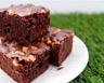 Brownie choco-noix et crème fraîche de grand-mère