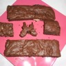 Brownies choco noisettes chocolat blanc