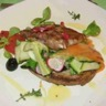 Bruschetta de légumes d'été au lard paysan :