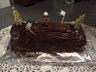 Bûche chocolat crème de marrons