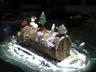 Bûche de Noël aux marrons et au chocolat