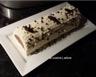 BUCHE VANILLE IVOIRE INSERT CHOCOLAT FEVE TONKA