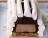 Bûchettes meringuées crème de châtaigne et mousse au chocolat noir