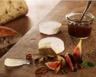 Cabécou du Périgord Rians compotée de figues et condiment d'oignons pâte de noix maison