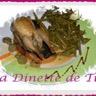 Cailles aux raisins farcies au foie gras sur Canapés