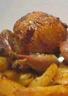 Cailles farcies au foie gras et raisins