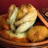 Cailles farcies aux abricots fondants semoule aux saveurs orientales