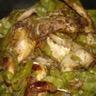 Cailles rôties aux pois gourmands