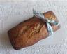 Cake à la farine de châtaigne flocons d'avoine et raisins secs