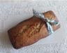Cake à la farine de châtaignes flocons d'avoine et raisins secs