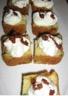 Cake au chèvre et courgettes chantilly aux tomates sechées