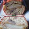 Cake au foie gras et pommes caramélisées
