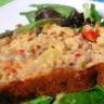 Cake au pesto de noix thon et légumes d'été