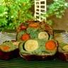 Cake au pesto thon et légumes