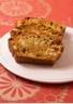 Cake au poulet carottes et noisettes