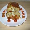 Cake au poulet  tomate cerise et noix de cajou