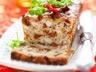 Cake au poulet tomates séchées et olives