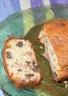 Cake au roquefort au lard et aux noix