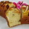 Cake au roquefort pommes et pain d'épices