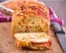 Cake aux asperges lardons et champignons