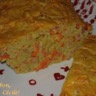 Cake aux carottes lardons parfumé au lait de coco et au colombo