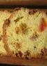 Cake aux cerises et oranges confits et raisins secs