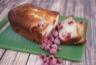 Cake aux framboises et lait de coco