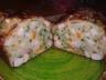 Cake aux légumes de printemps poulet rôti et fines herbes