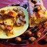 Cake aux marrons glacés et piment d'espelette