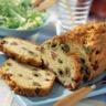 Cake aux olives et aux lardons sans gluten