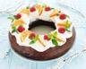Cake de Noël aux noix