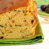 Cake de polenta amandes & courgettes