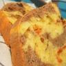 Cake marbré aux tomates confites olives noires & cumin