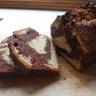 Cake marbré chocolat - cardamome