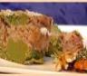 Cake marbré de haricots vert aux deux noix
