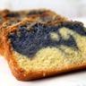 Cake marbré sucré à la pomme de terre vitelotte